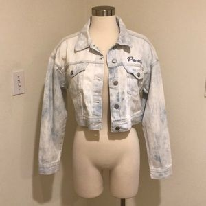 *new* croptop jean jacket!!